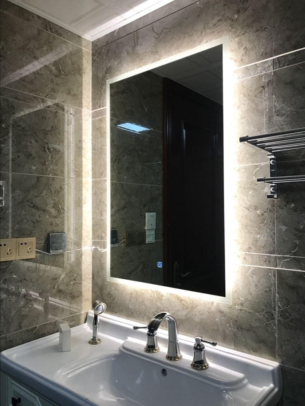 [%us $180.0 10% Off|box Diffusers Led Backlit Bathroom Mirror Vanity Square Wall Mount Bathroom Finger Touch Light Mirror Bath Mirrors In Bath Mirrors Intended For Favorite Backlit Bathroom Wall Mirrors|backlit Bathroom Wall Mirrors Throughout Famous Us $180.0 10% Off|box Diffusers Led Backlit Bathroom Mirror Vanity Square Wall Mount Bathroom Finger Touch Light Mirror Bath Mirrors In Bath Mirrors|best And Newest Backlit Bathroom Wall Mirrors With Regard To Us $180.0 10% Off|box Diffusers Led Backlit Bathroom Mirror Vanity Square Wall Mount Bathroom Finger Touch Light Mirror Bath Mirrors In Bath Mirrors|most Up To Date Us $ (View 3 of 20)