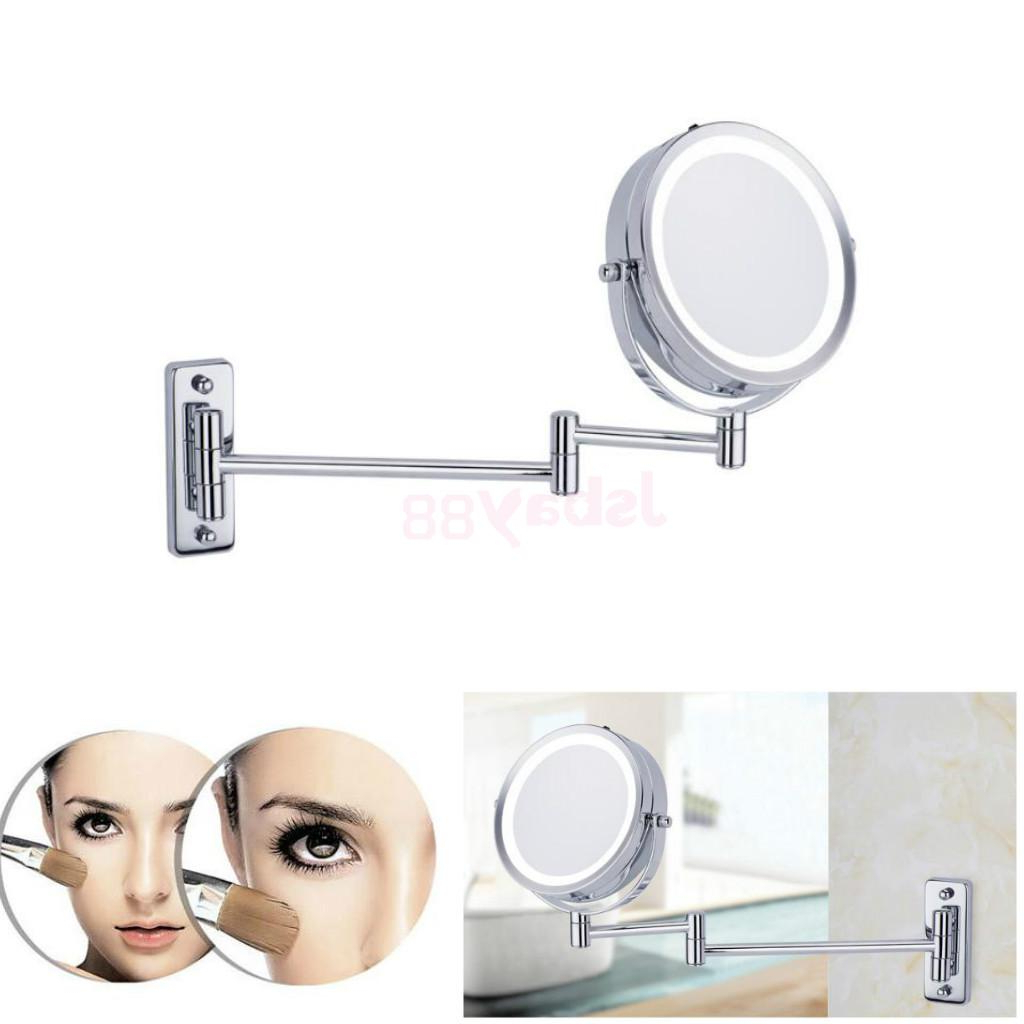 [%Us $34.96 24% Off|Two Sided Swivel Wall Mount Vanity Mirror Led Lighted 5X  Magnification Extension Arm For Counter Home Bathroom Shaving Makeup In With Regard To Famous Extension Arm Wall Mirrors|Extension Arm Wall Mirrors Inside Recent Us $34.96 24% Off|Two Sided Swivel Wall Mount Vanity Mirror Led Lighted 5X  Magnification Extension Arm For Counter Home Bathroom Shaving Makeup In|Preferred Extension Arm Wall Mirrors For Us $34.96 24% Off|Two Sided Swivel Wall Mount Vanity Mirror Led Lighted 5X  Magnification Extension Arm For Counter Home Bathroom Shaving Makeup In|Best And Newest Us $ (View 3 of 20)
