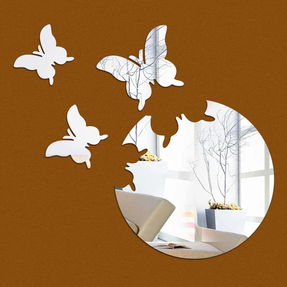 [%us $9.98 48% Off funlife 3d Stereo Butterfly Decorative Mirror Paste Silver  Foreign Trade Hot Wall Stickers Children Bedroom Stickers Ms361349 In Wall Intended For Well Known Butterfly Wall Mirrors butterfly Wall Mirrors Pertaining To Preferred Us $9.98 48% Off funlife 3d Stereo Butterfly Decorative Mirror Paste Silver  Foreign Trade Hot Wall Stickers Children Bedroom Stickers Ms361349 In Wall well Known Butterfly Wall Mirrors Throughout Us $9.98 48% Off funlife 3d Stereo Butterfly Decorative Mirror Paste Silver  Foreign Trade Hot Wall Stickers Children Bedroom Stickers Ms361349 In Wall most Recently Released Us $ (View 2 of 20)
