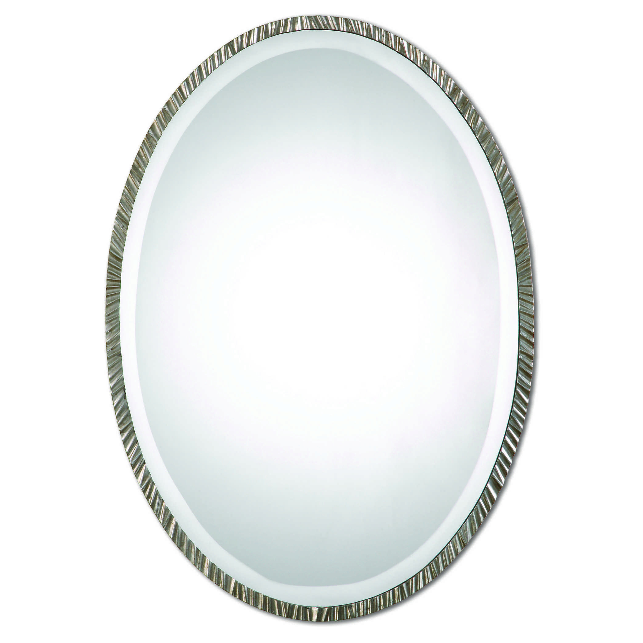 Uttermost Annadel Oval Wall Mirror Intended For Recent Burnes Oval Traditional Wall Mirrors (View 17 of 20)