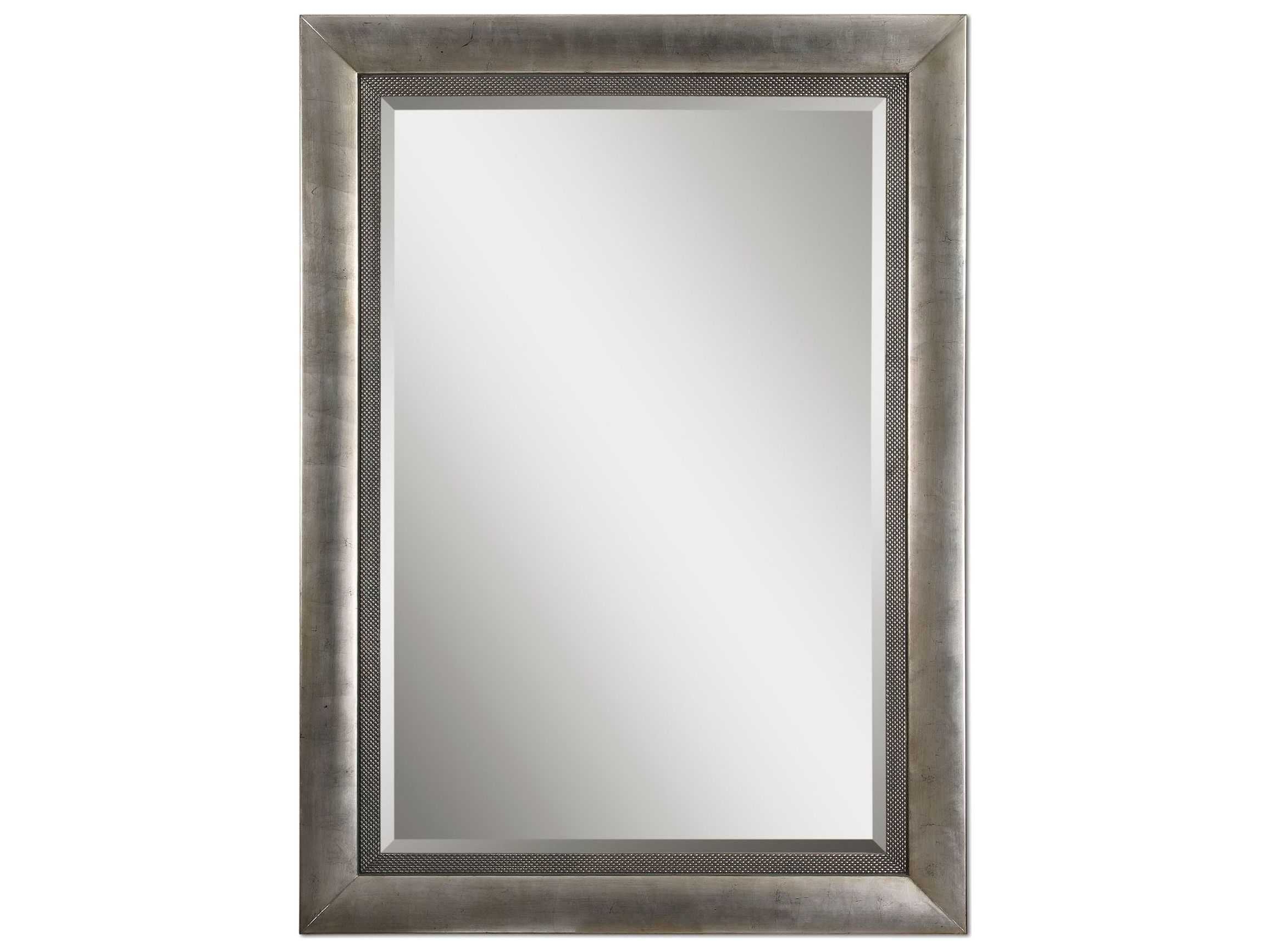 Uttermost Gilford 62 X 86 Antique Silver Wall Mirror In Latest Antique Silver Wall Mirrors (View 20 of 20)