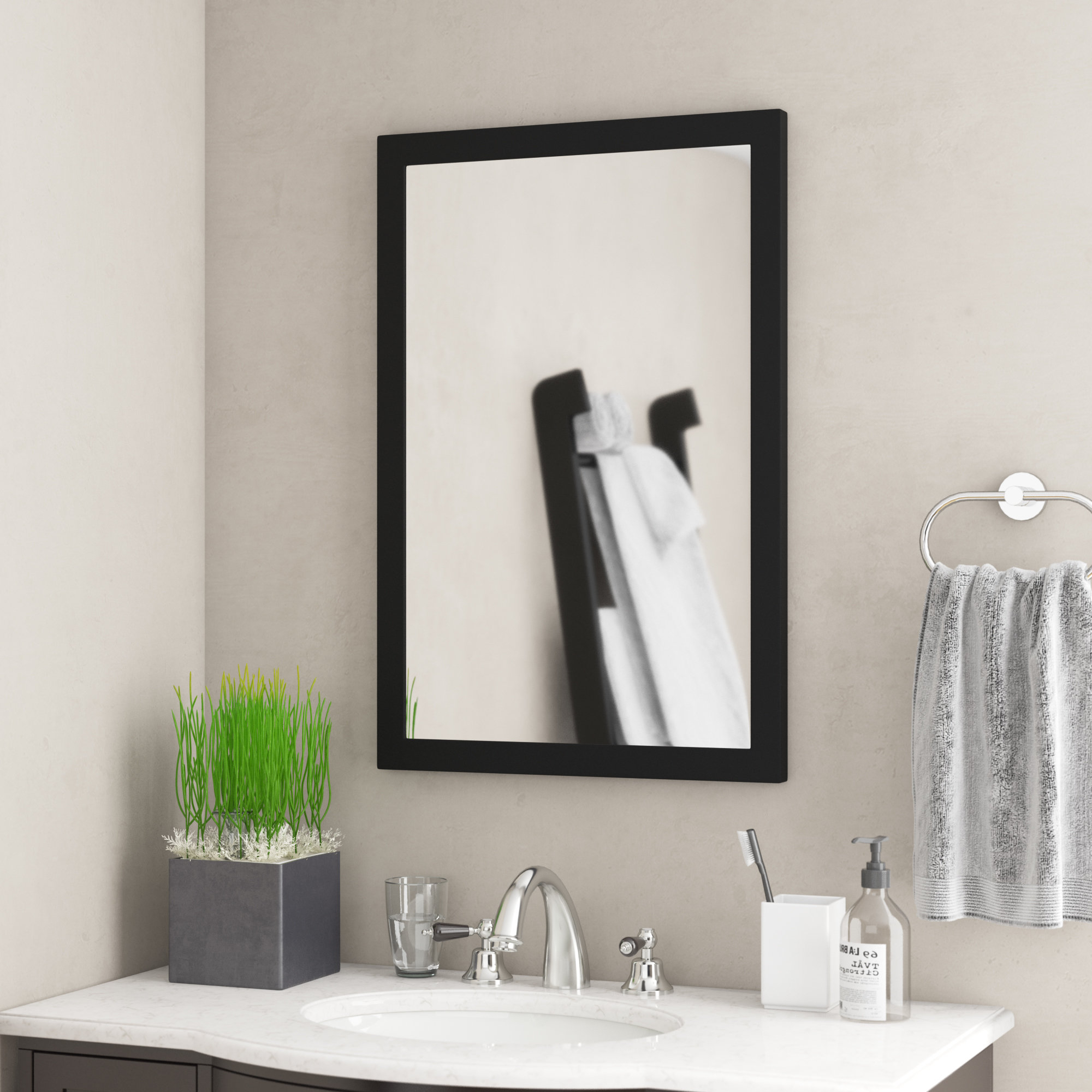 Vanity Wall Mirrors With Famous Curley Vanity Wall Mirror (View 13 of 20)