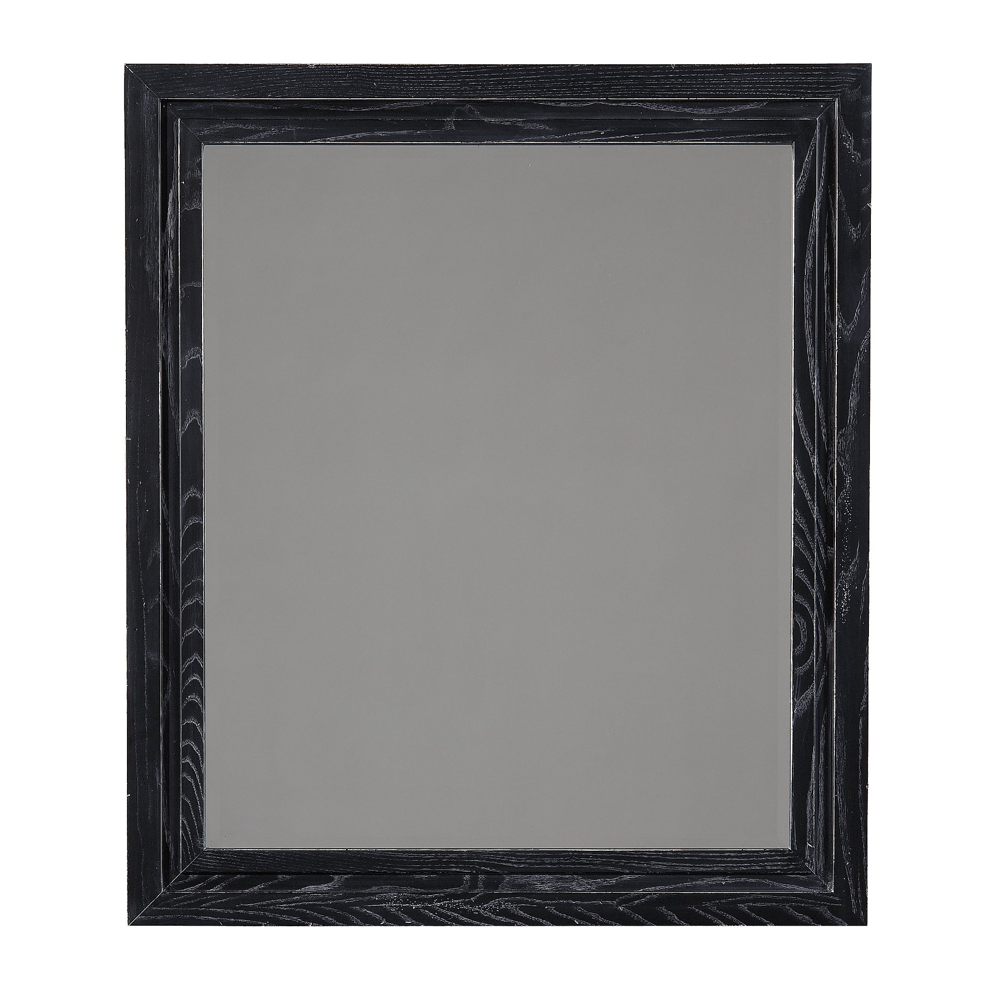 Vassallo Beaded Bronze Beveled Wall Mirrors Pertaining To Well Known Rosston Rectangle Wood Framed End Wall Mirror (View 17 of 20)
