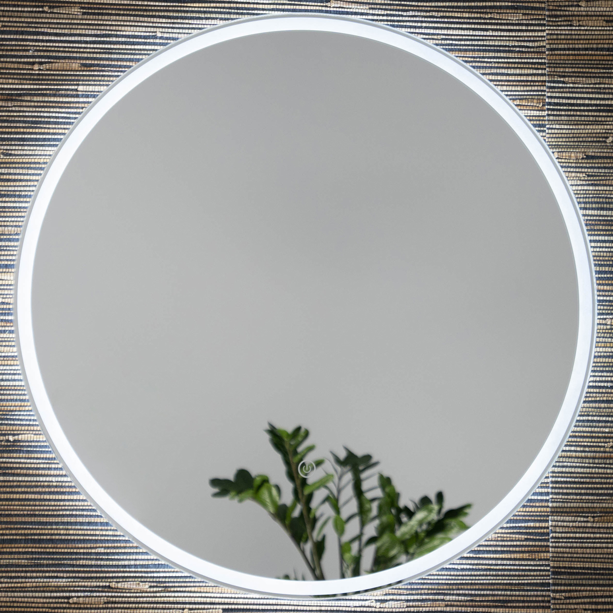 Vela Round Backlit Wall Mirror For 2019 Backlit Wall Mirrors (View 19 of 20)
