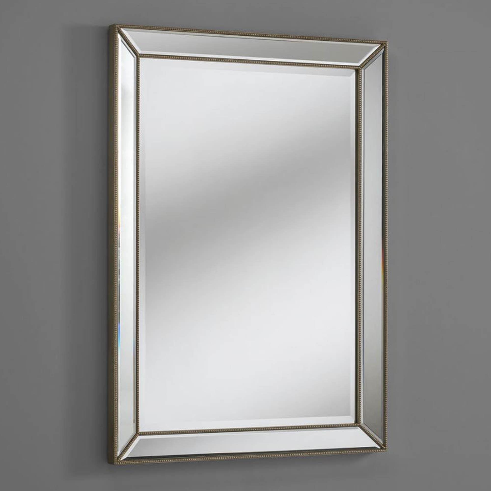Venetian Style Wall Mirrors With Regard To Popular Silver Venetian Rectangular Wall Mirror (View 19 of 20)