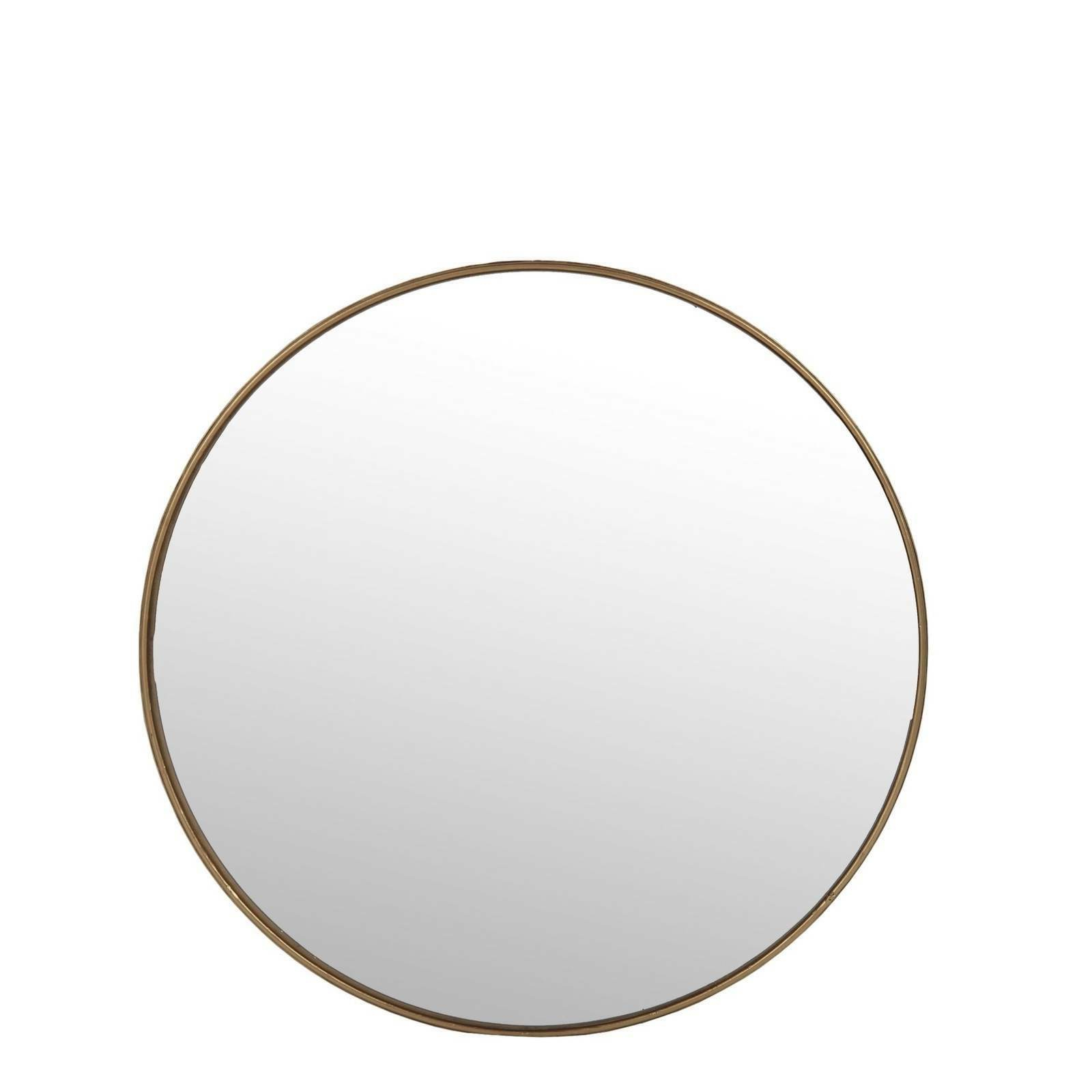 Vertical Round Wall Mirrors Throughout Most Up To Date Details About Large Round Wall Mirror Gold Frame Wall Mounted Vertical Orientation 15'' 32'' H (View 5 of 20)