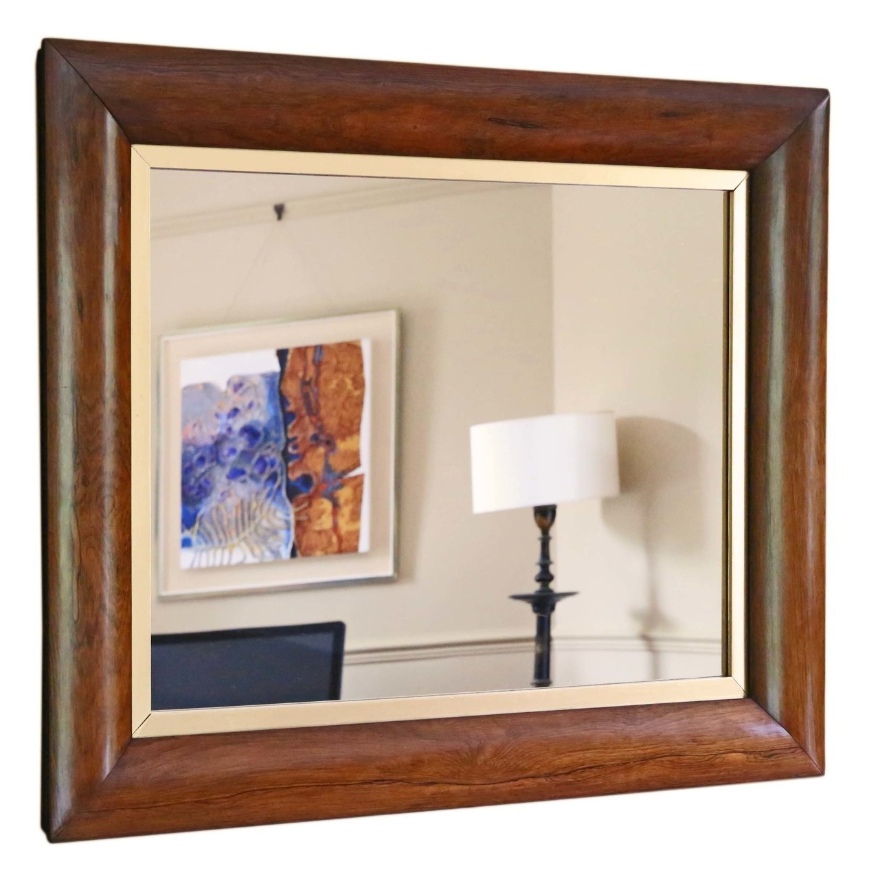 Victorian Wall Mirrors Within Widely Used Victorian Rosewood Cushion Overmantle Or Wall Mirror (View 17 of 20)