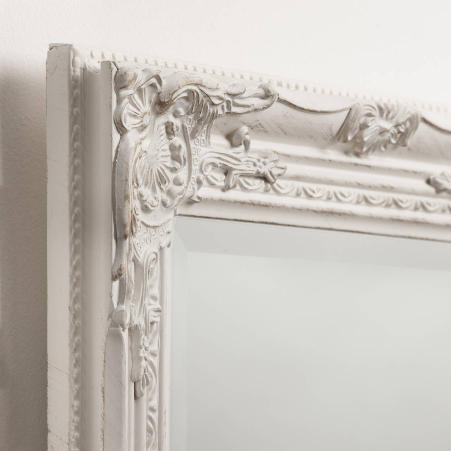 Vintage Style Wall Mirrors For Recent Beautifull Distressed Vintage Style Wall Mirror (View 2 of 20)
