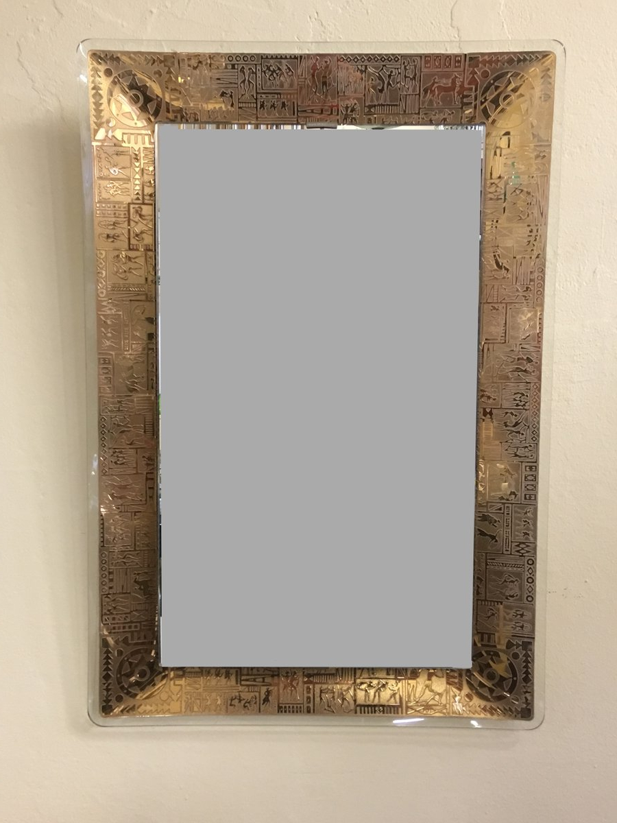 Vintage Wall Mirrors Intended For Current Vintage Wall Mirrorm (View 6 of 20)