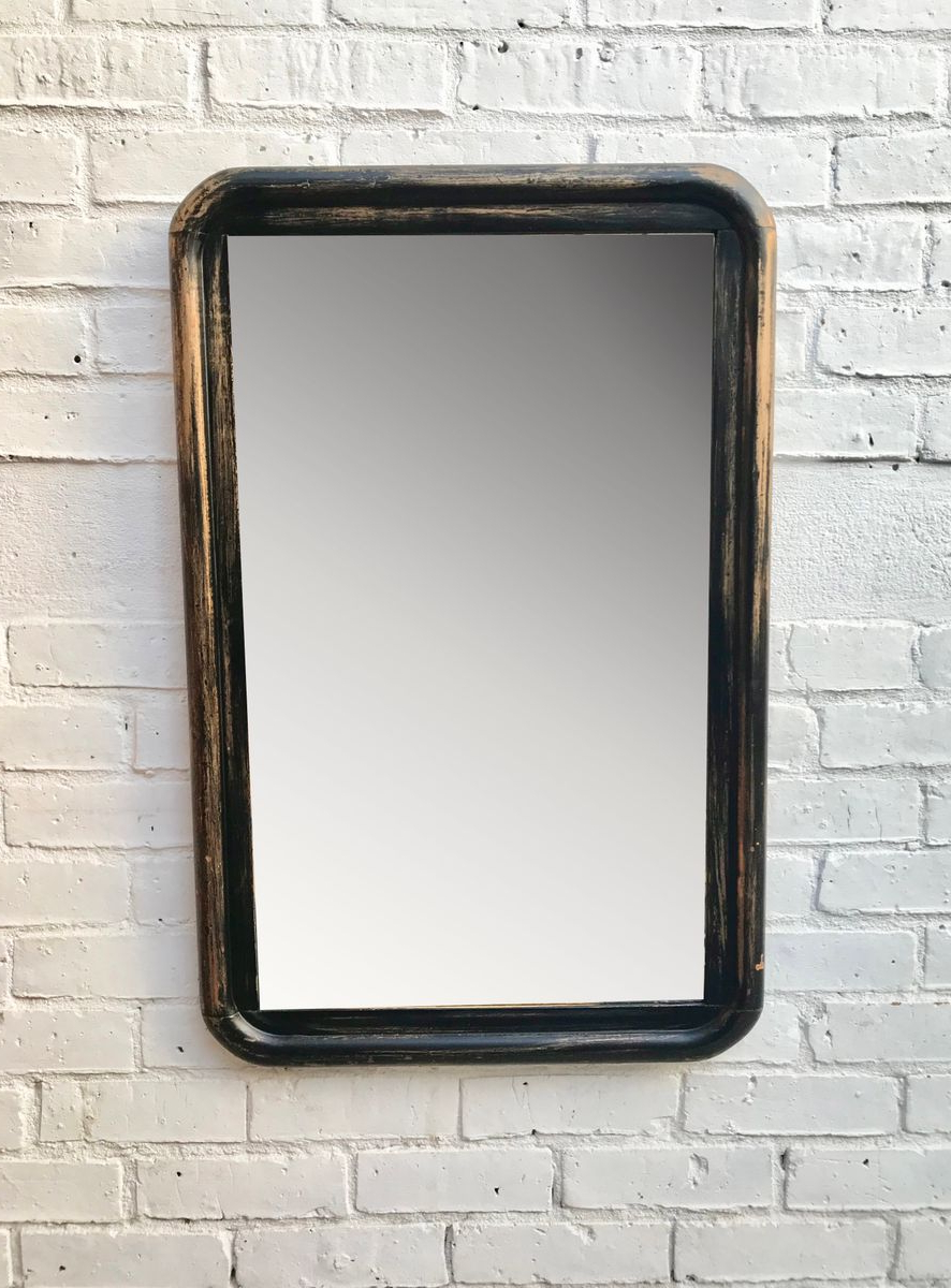 Vintage Wooden Wall Mirror For Latest Wooden Wall Mirrors (View 6 of 20)