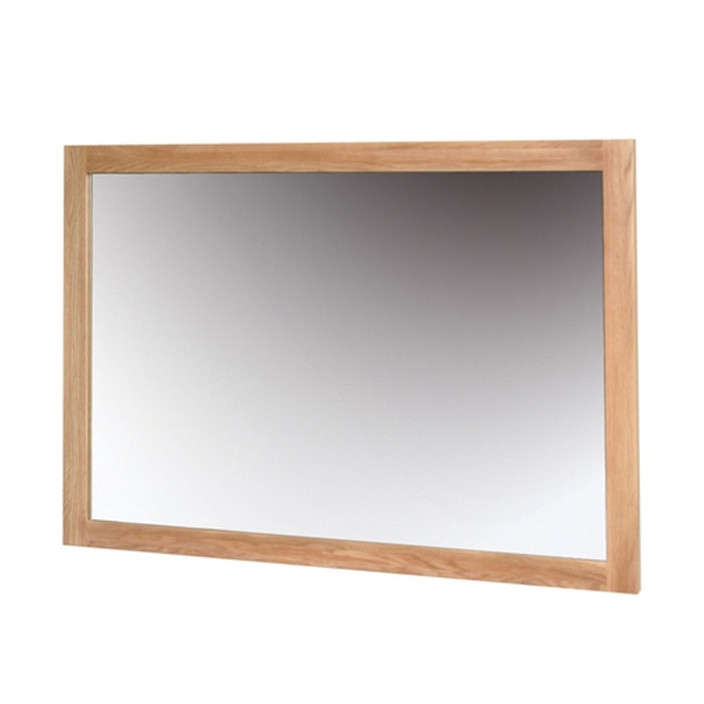 Wall Mirror 900 * 1300 Nimbus Oak With Regard To Current Oak Wall Mirrors (View 5 of 20)