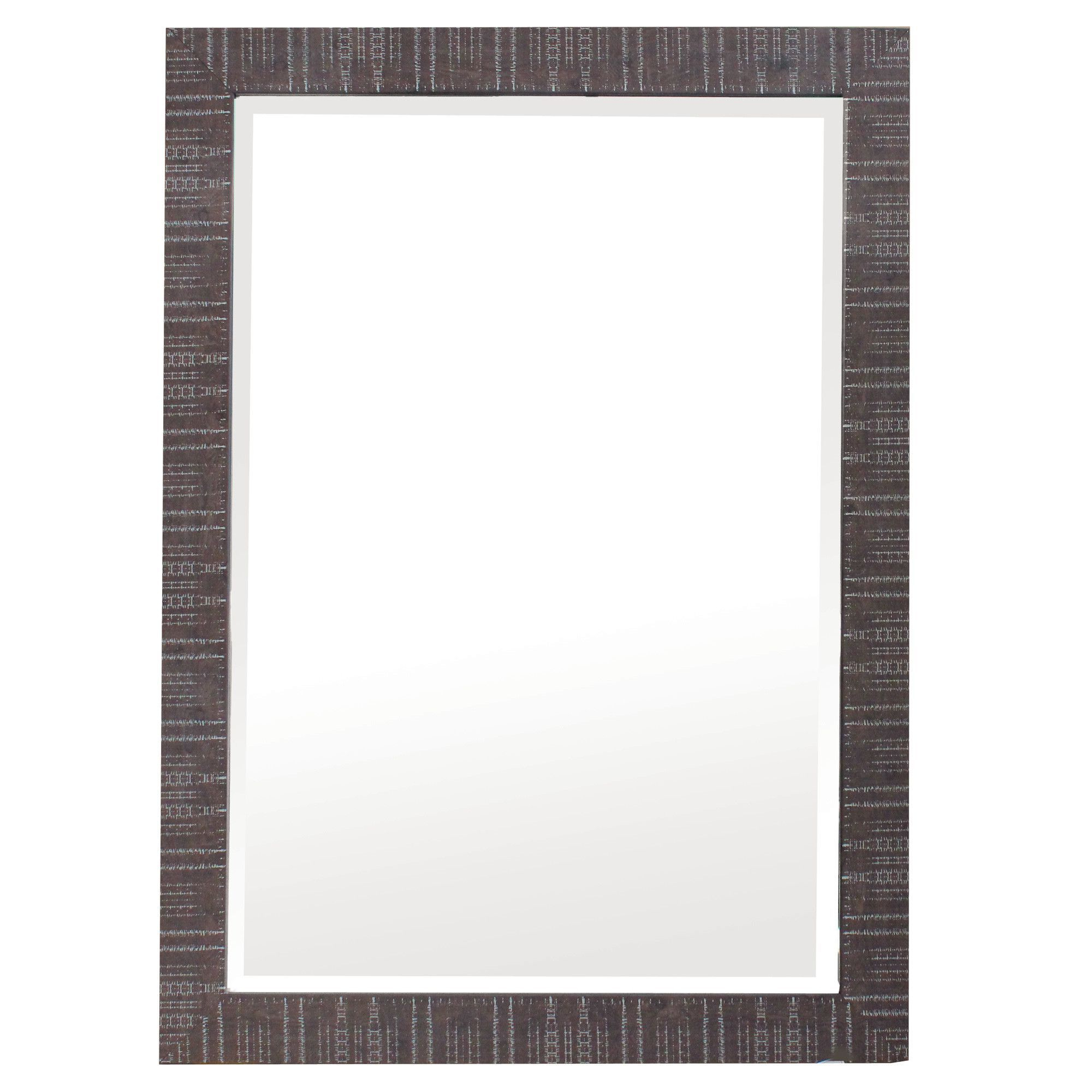 Wall Mirror In Estefania Frameless Wall Mirrors (View 17 of 20)