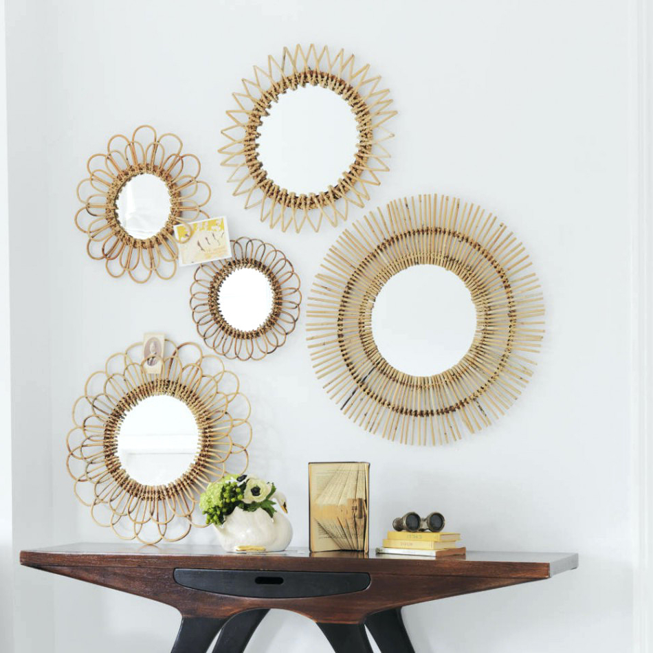 Wall Mirror Sets Of 4 Pertaining To Latest Wall Mirrors Set Of Three Uk Decorative Mirror Clocks Sets Decor (View 19 of 20)