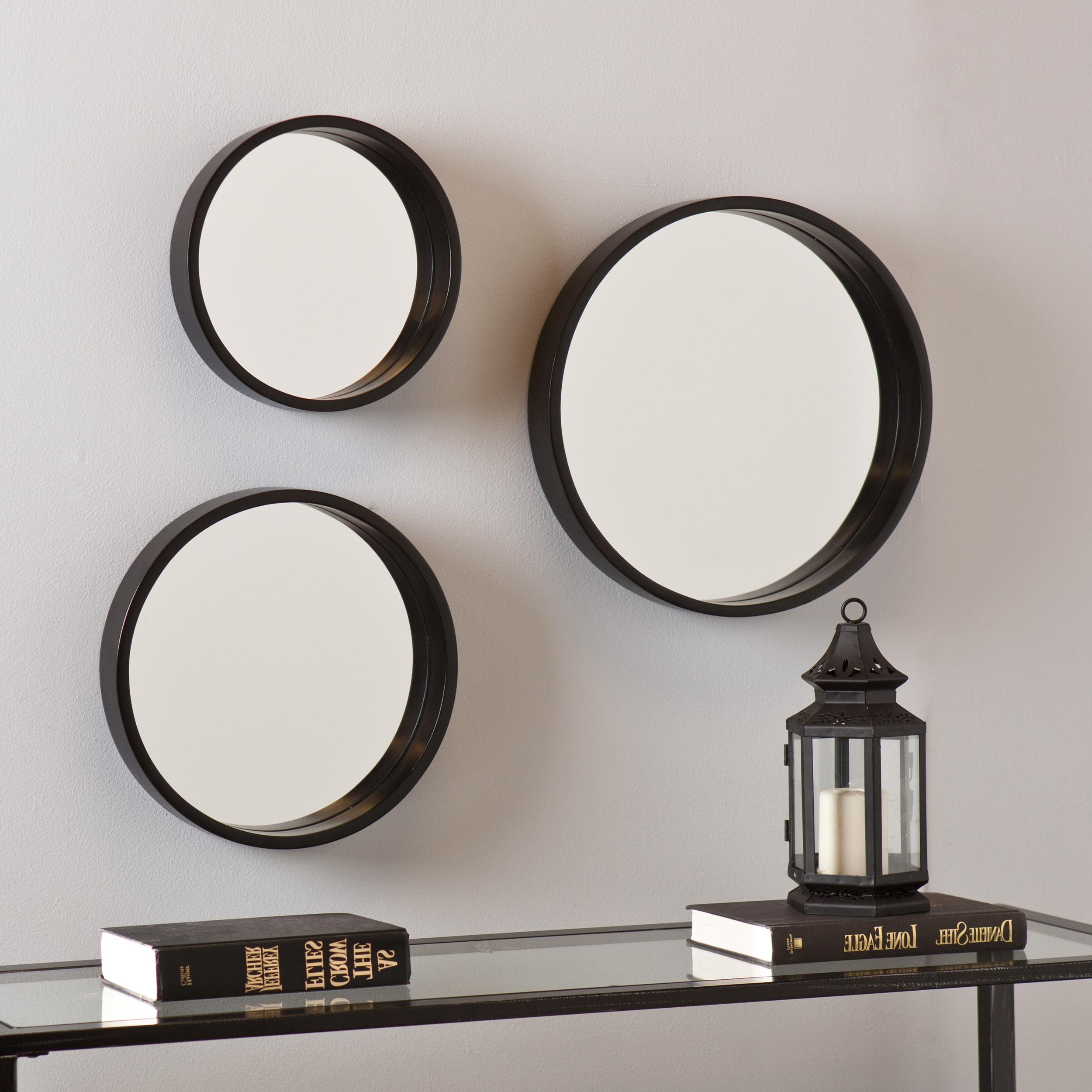 Wall Mirror Sets Of 4 Within Well Known Joyous Wall Mirror Sets In Conjunction With Antique Decorative Panel (View 4 of 20)