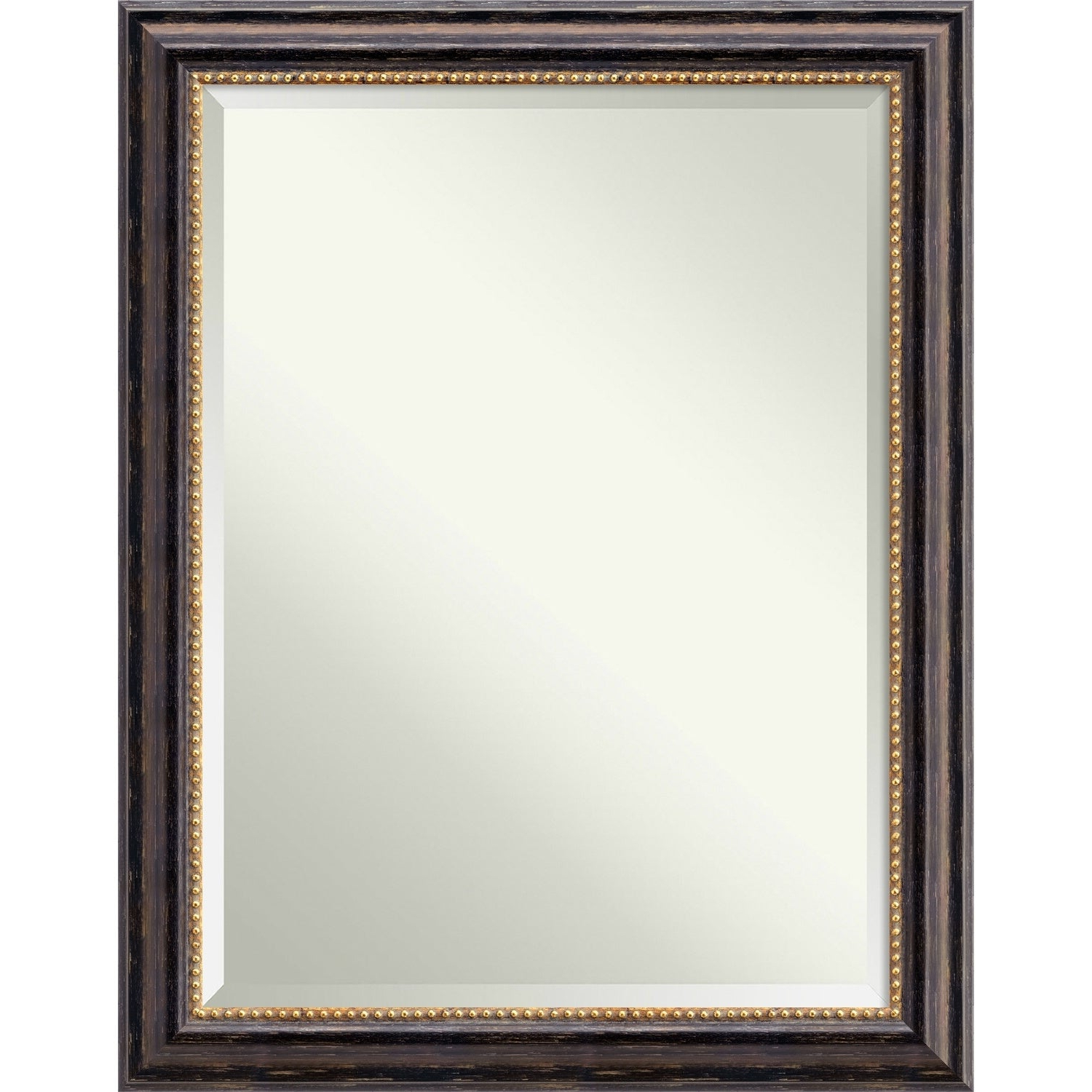 Wall Mirror, Tuscan Rustic Wood – Black/brown Inside Most Current Tuscan Style Wall Mirrors (View 17 of 20)