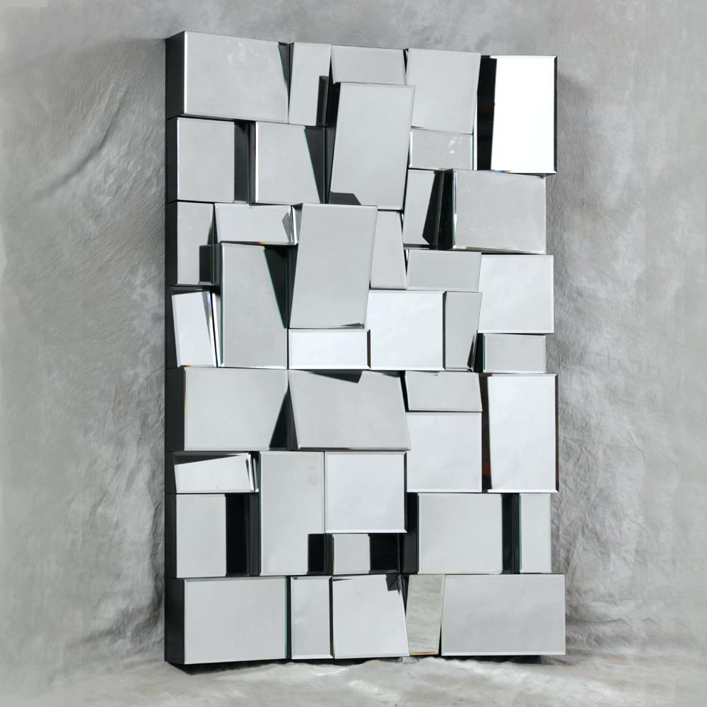 Wall Mirrors Black Wood Frame Mirror Full Length Interior For Favorite Large Square Wall Mirrors (View 18 of 20)