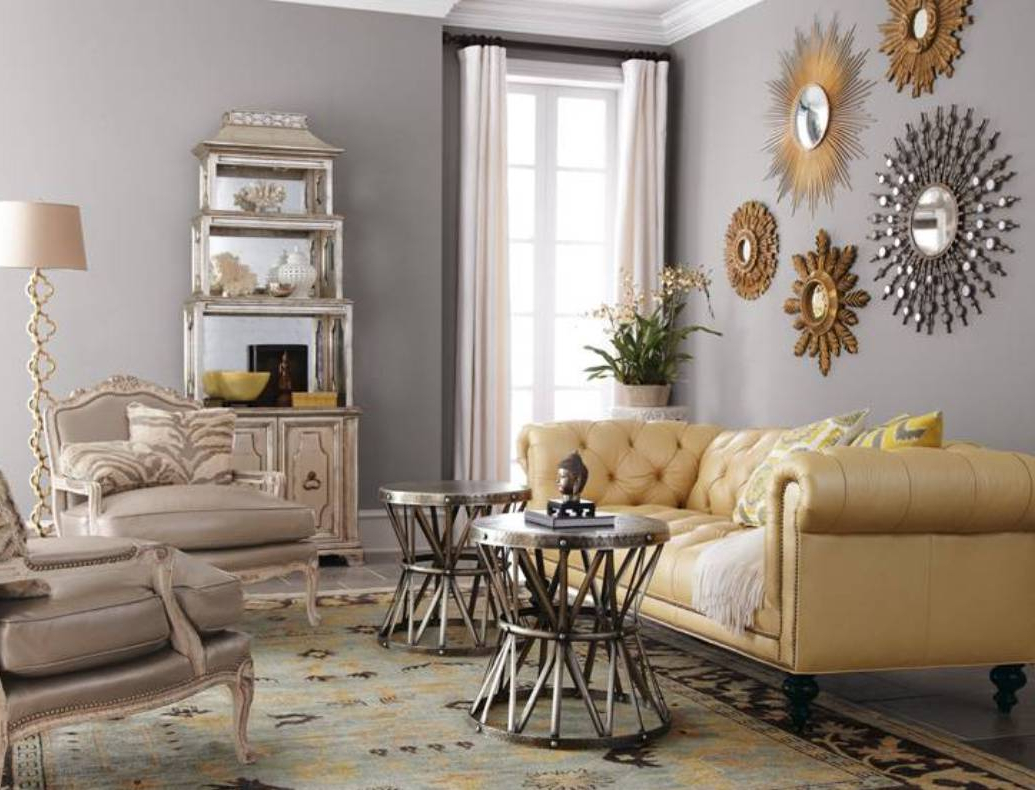 Wall Mirrors For Living Room (Gallery 5 of 20)