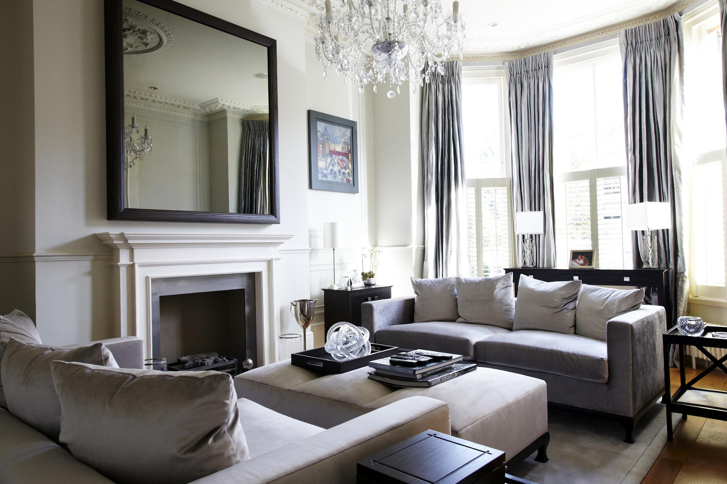 Wall Mirrors For Living Rooms Pertaining To Fashionable Large Wall Mirrors For Living Room (View 14 of 20)
