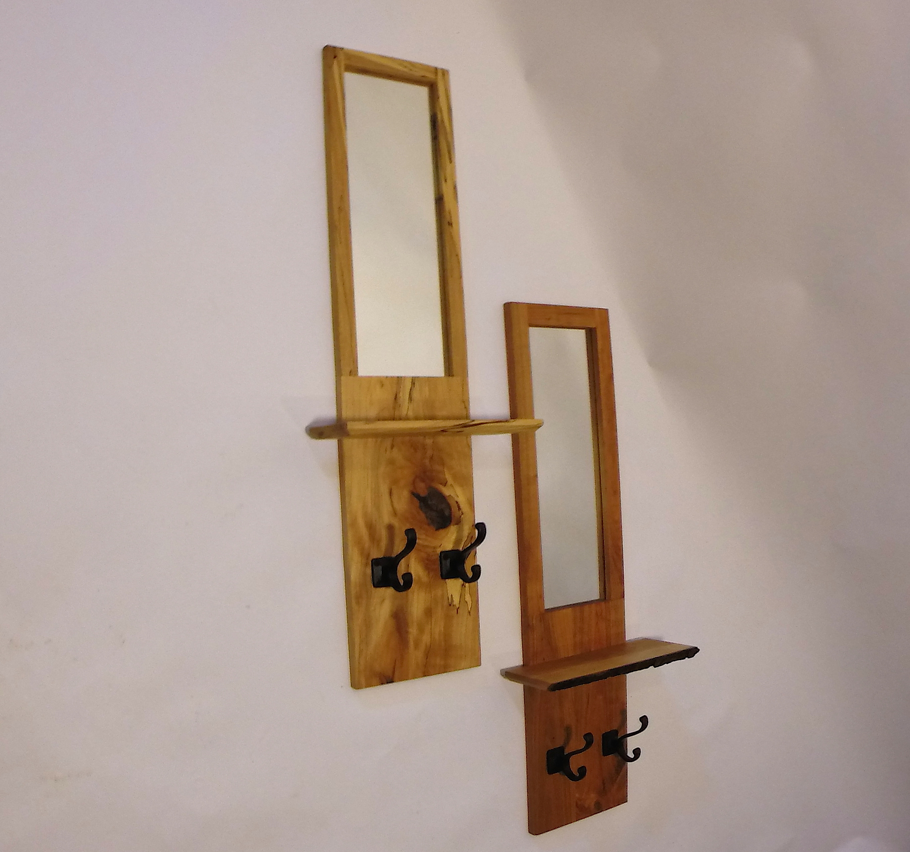 Wall Mirrors With Hooks With Regard To Preferred Wall Mirrors With Shelves And Hooks – Dwyer Wood (View 16 of 20)