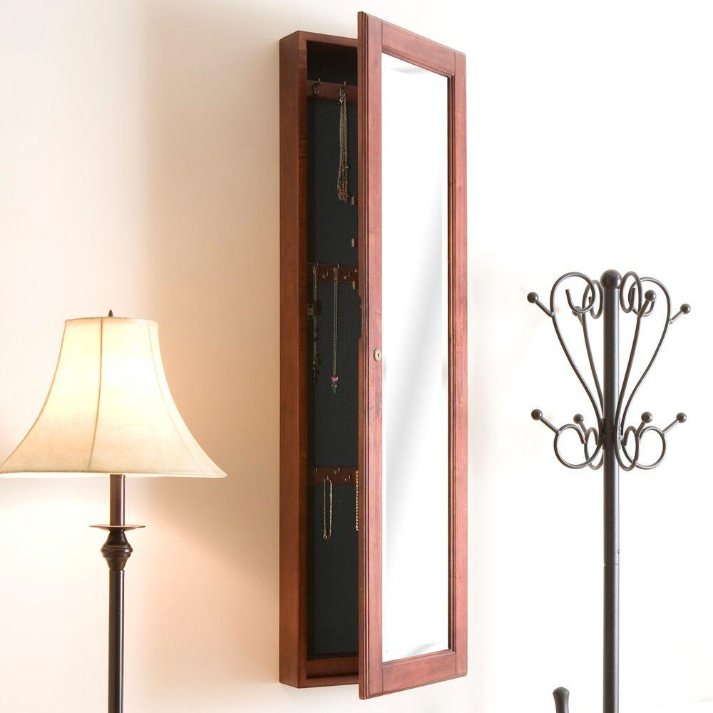 Wall Mirrors With Jewelry Storage Inside Latest Southern Enterprises 48 1/4 In. X 14 1/2 In (View 18 of 20)