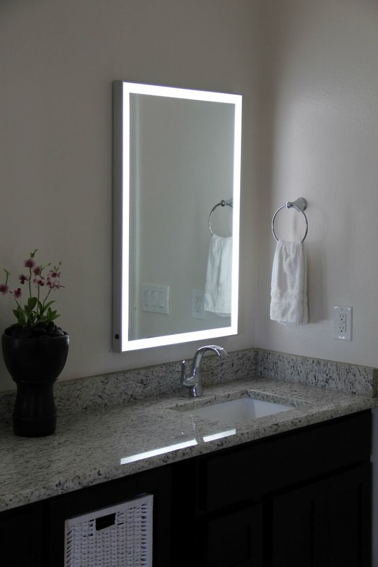 Wall Mirrors With Light Bulbs With 2020 Top 34 Killer Mirror With Light Bulbs Led Vanity Lighted Table (View 6 of 20)