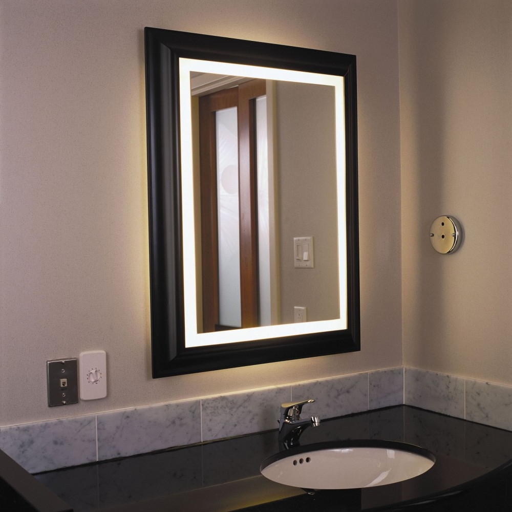 Wall Mirrors With Light In Most Popular Installing Wall Mirror With Lights (View 14 of 20)