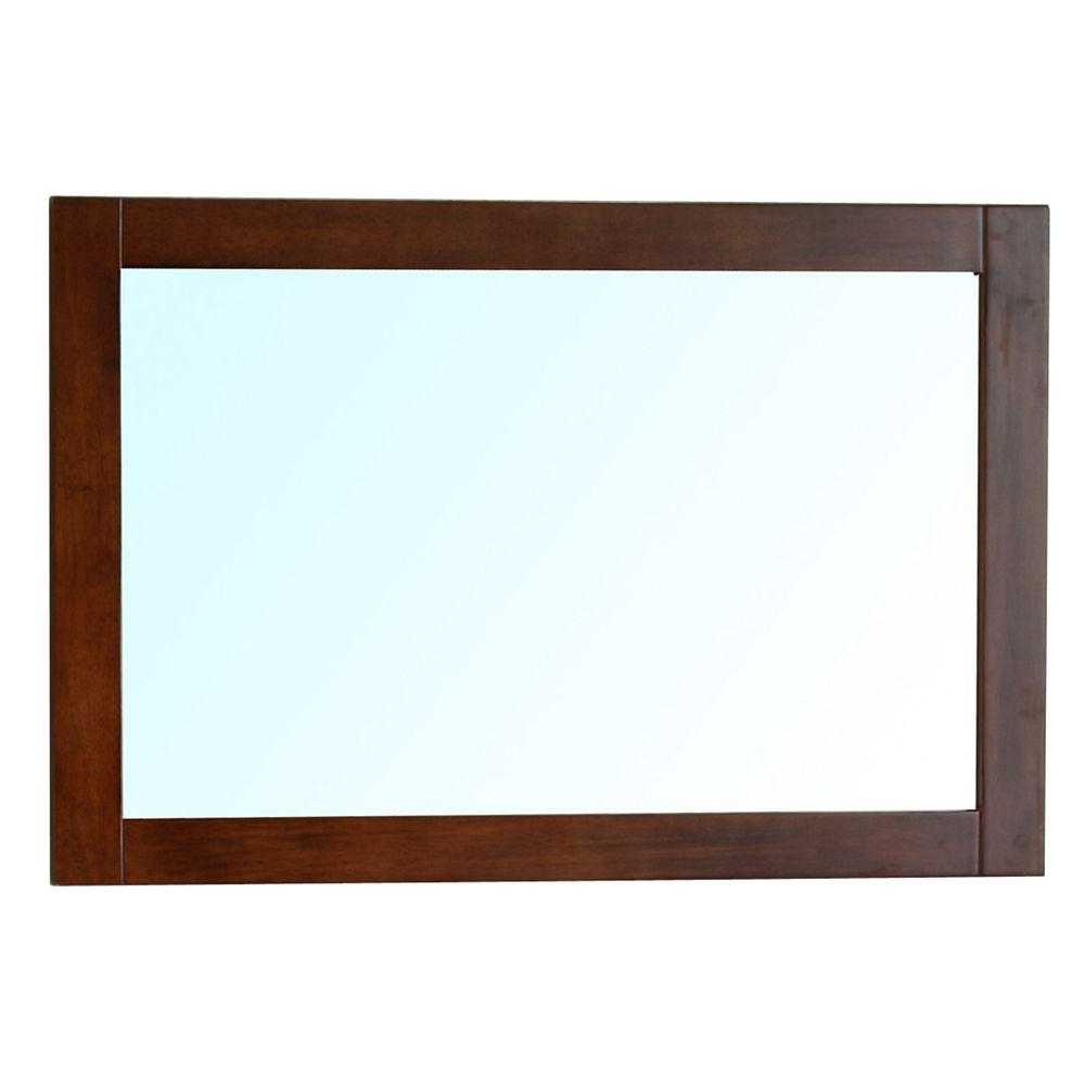 Walnut Wall Mirrors Inside 2020 Bellaterra Home Cork 24 In. L X 36 In (View 10 of 20)