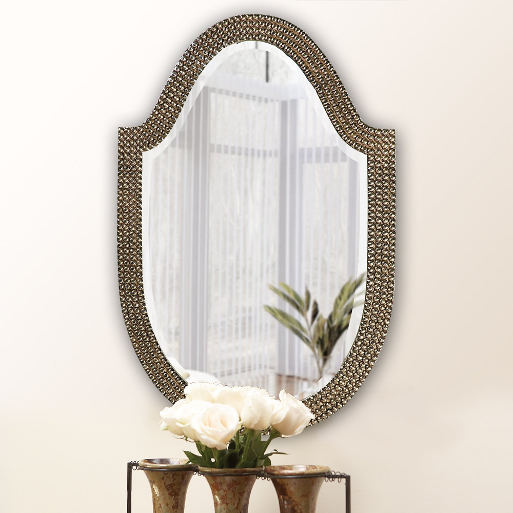 Well Known Accent Mirror Intended For Padang Irregular Wood Framed Wall Mirrors (View 13 of 20)