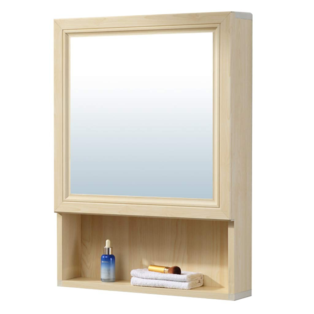 Well Known Amazon: Mirrors Mirror Cabinet Wall Hanging Mirror Cabinet 40 Within Bathroom Wall Mirror Cabinets (View 17 of 20)
