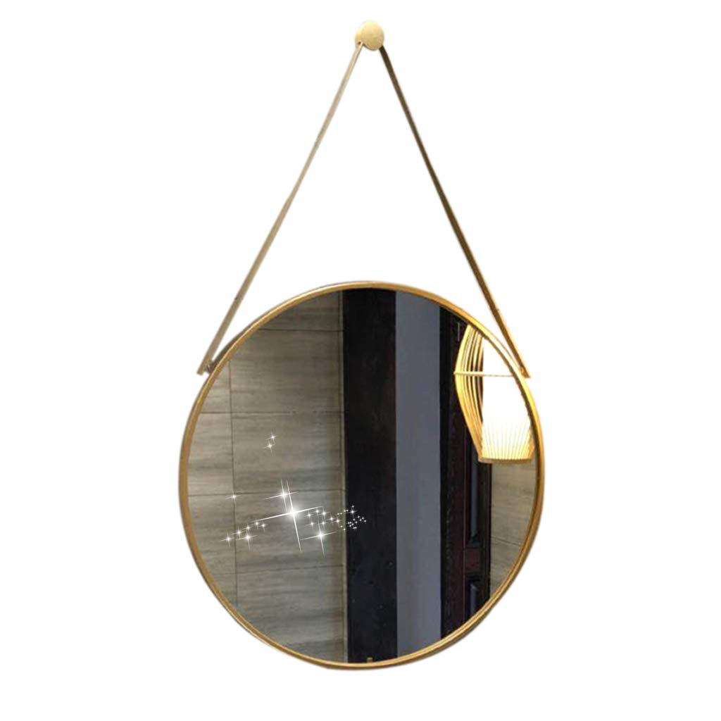 Well Known Amazon: Round Mirror Stylish Bathroom Wall Mirror Intended For Stylish Wall Mirrors (Gallery 11 of 20)