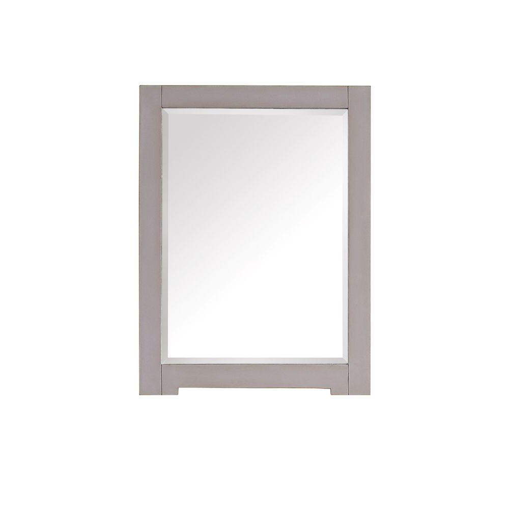 Well Known Avanity Kelly 32 In. L X 24 In. W Framed Wall Mirror In Grayish Blue In Colton Modern & Contemporary Wall Mirrors (Gallery 8 of 20)
