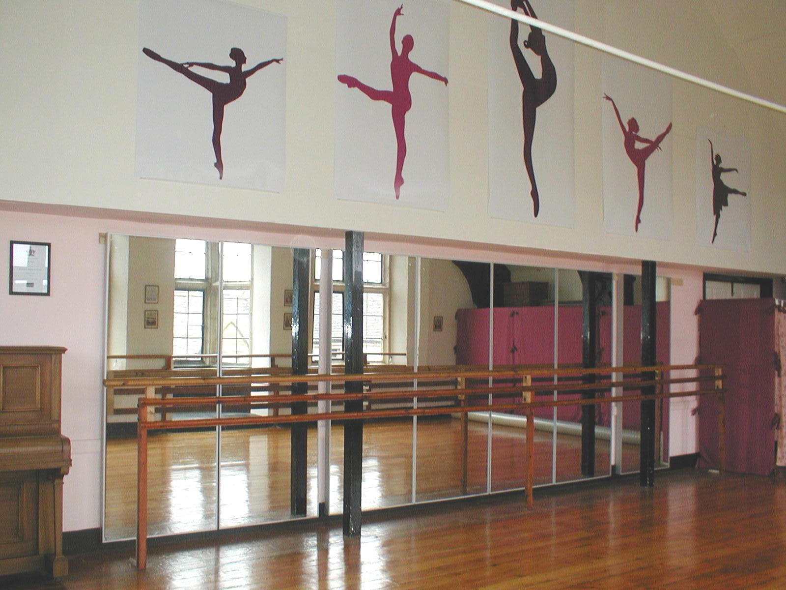 Well Known Ballerina Decor For Nursery Party Home Dance Studio Mirrors Interior Regarding Dance Wall Mirrors (View 20 of 20)