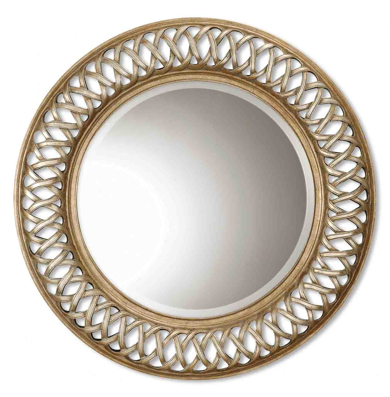 Well Known Bambridge Round Plastic Wall Mirror Pertaining To Plastic Wall Mirrors (View 17 of 20)