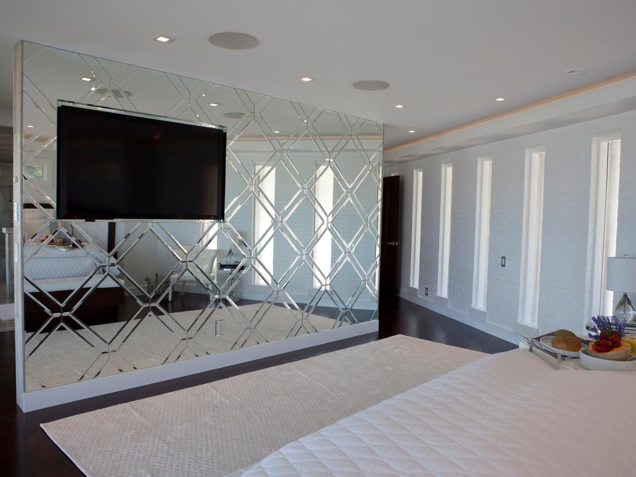 Well Known Bedroom Wall Mirror Houzz Design Ideas Bathroom Mirrors Simple In Full Length Decorative Wall Mirrors (View 20 of 20)