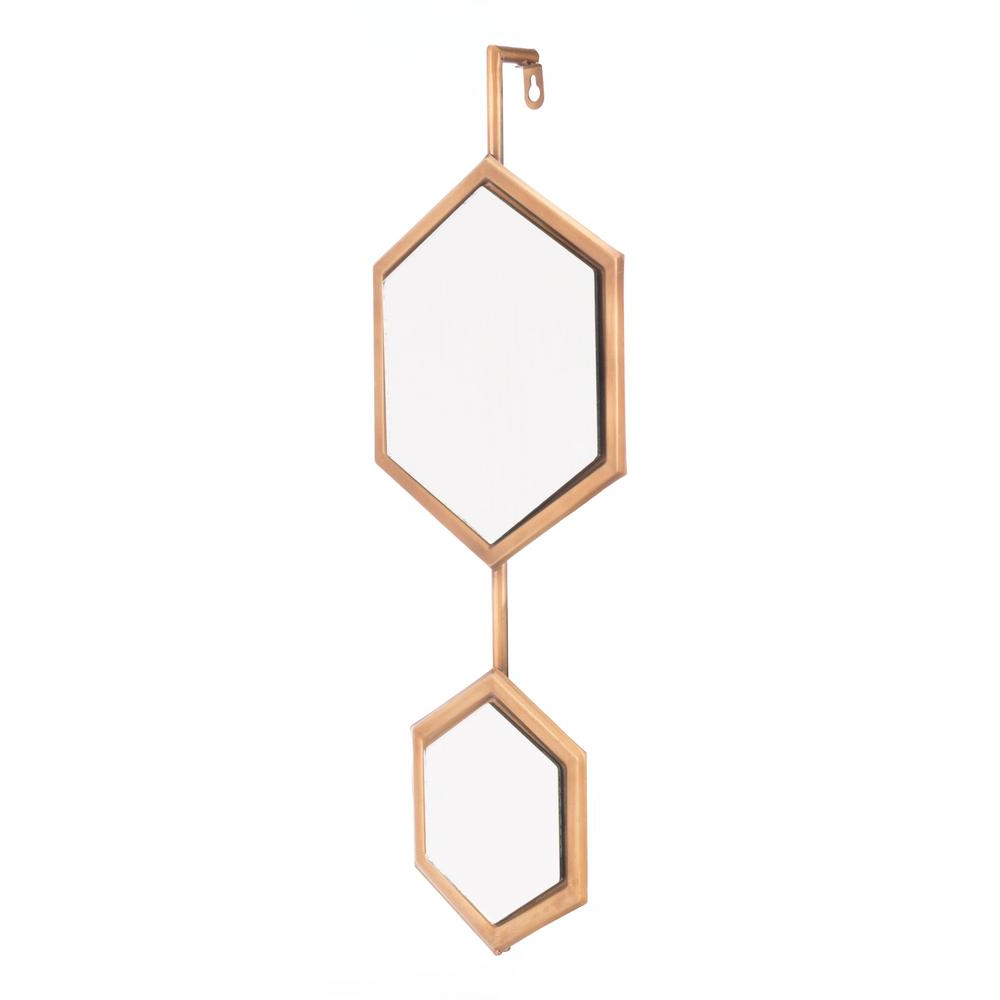 Well Known Bee Gold Small Wall Mirror Pertaining To Small Gold Wall Mirrors (View 13 of 20)