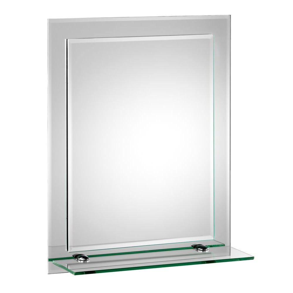 Well Known Bevelled Wall Mirrors Inside Croydex 16 In. X 20 In (View 13 of 20)