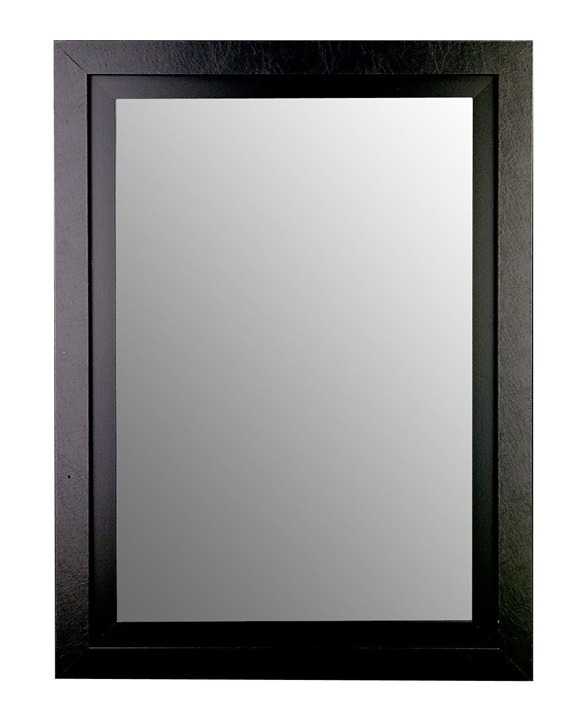 """Well Known Black Framed Wall Mirrors Inside Amazon: Hitchcock Butterfield Home Decor 38"""" X 77"""" Black / Black (View 8 of 20)"""