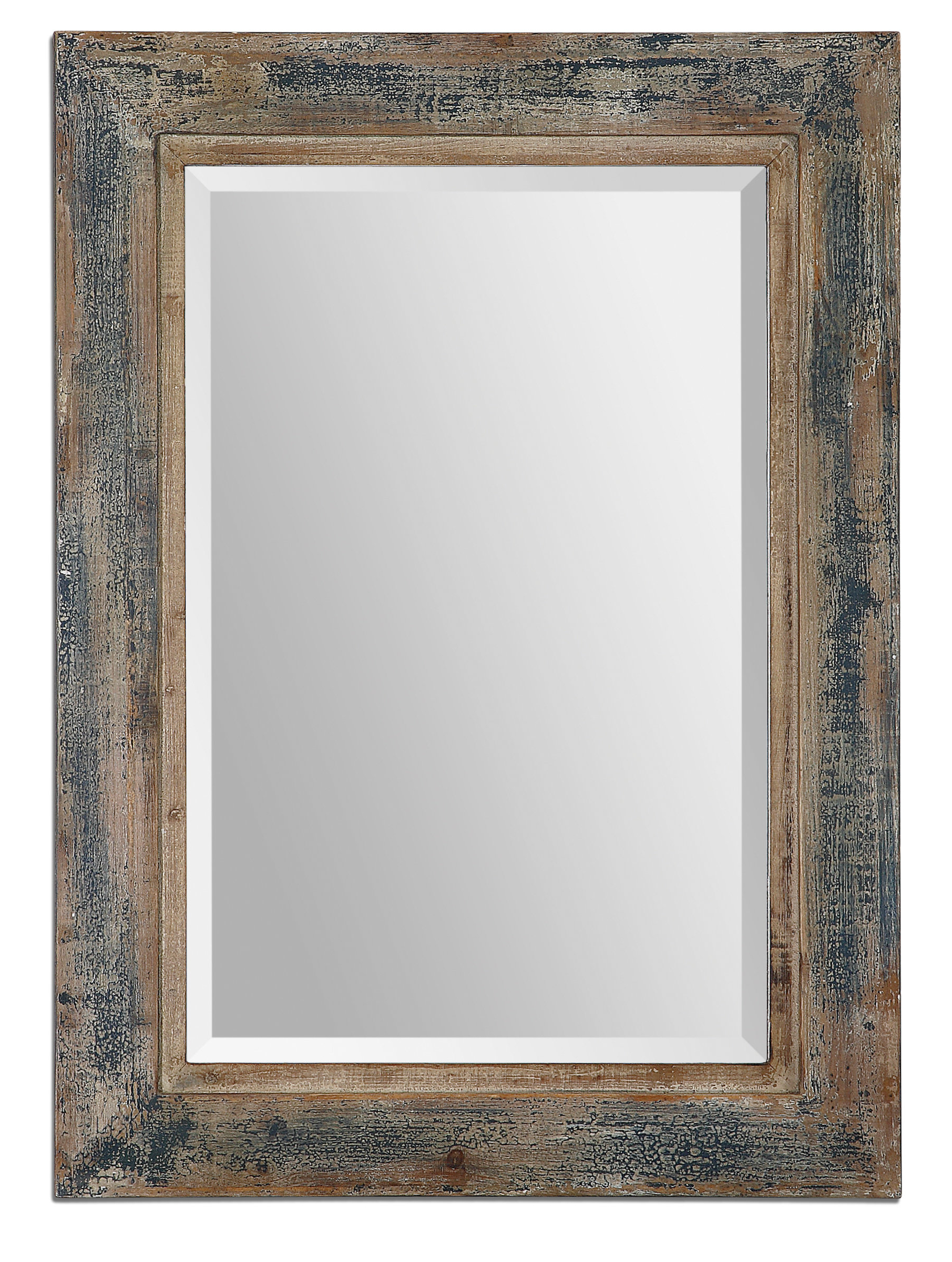 Well Known Booth Reclaimed Wall Mirrors Accent For Janie Rectangular Wall Mirror (View 13 of 20)
