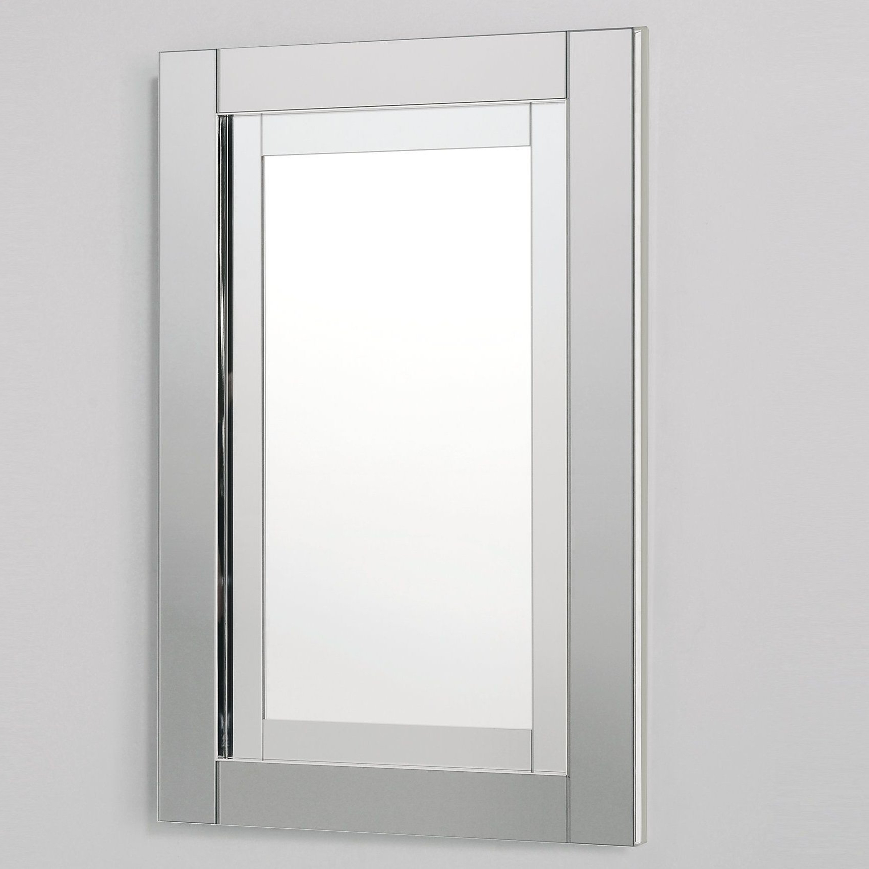 Well Known Candre Framed Modern & Contemporary Wall Mirror In Dandre Wall Mirrors (View 9 of 20)