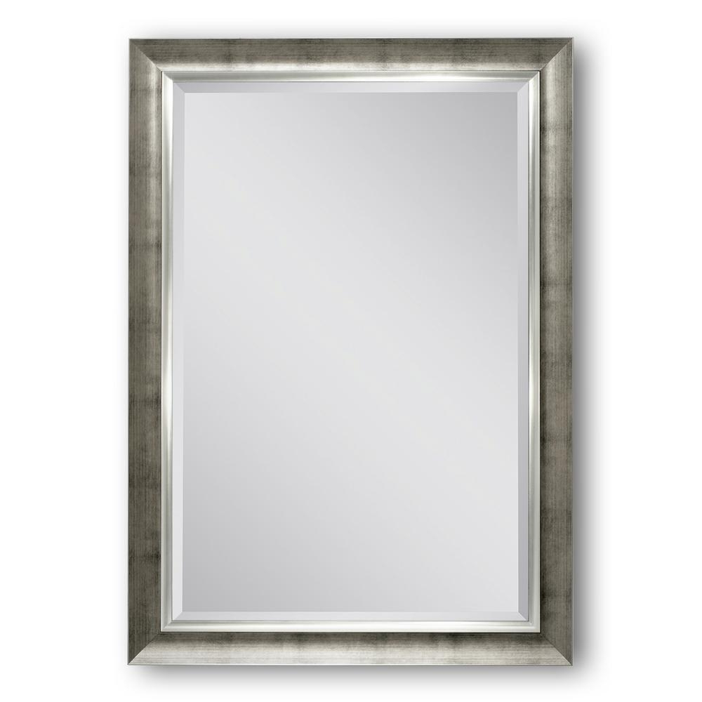 Well Known Champagne Wall Mirrors Within Deco Mirror 30 In. W X 42 In (View 18 of 20)