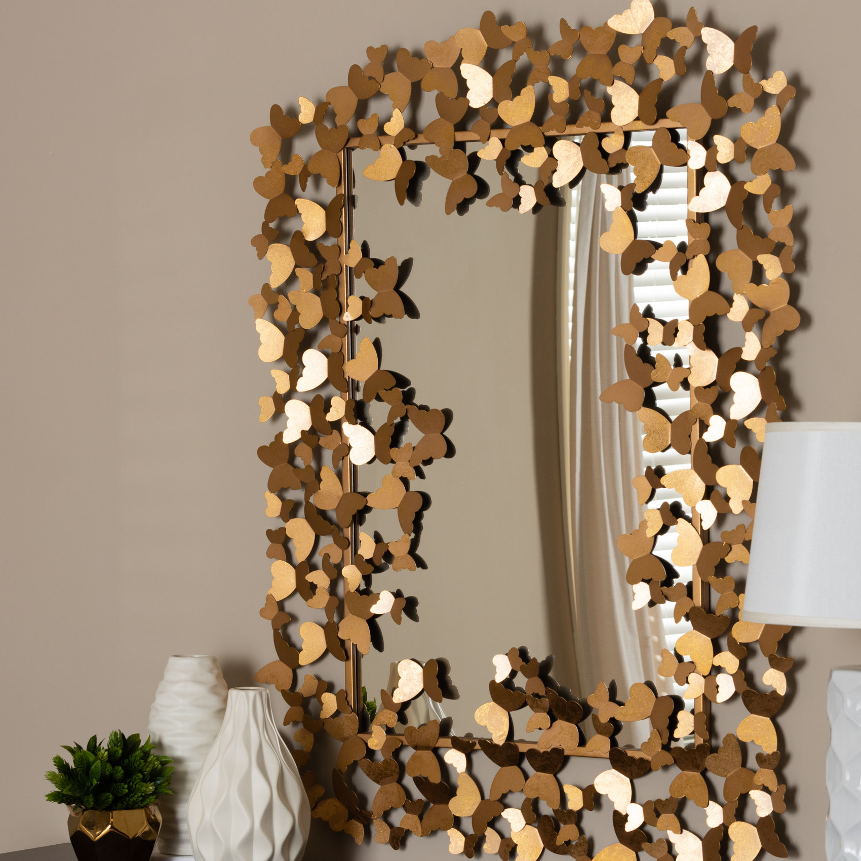 Well Known Cherri Butterfly Wall Mirror Throughout Butterfly Wall Mirrors (View 7 of 20)