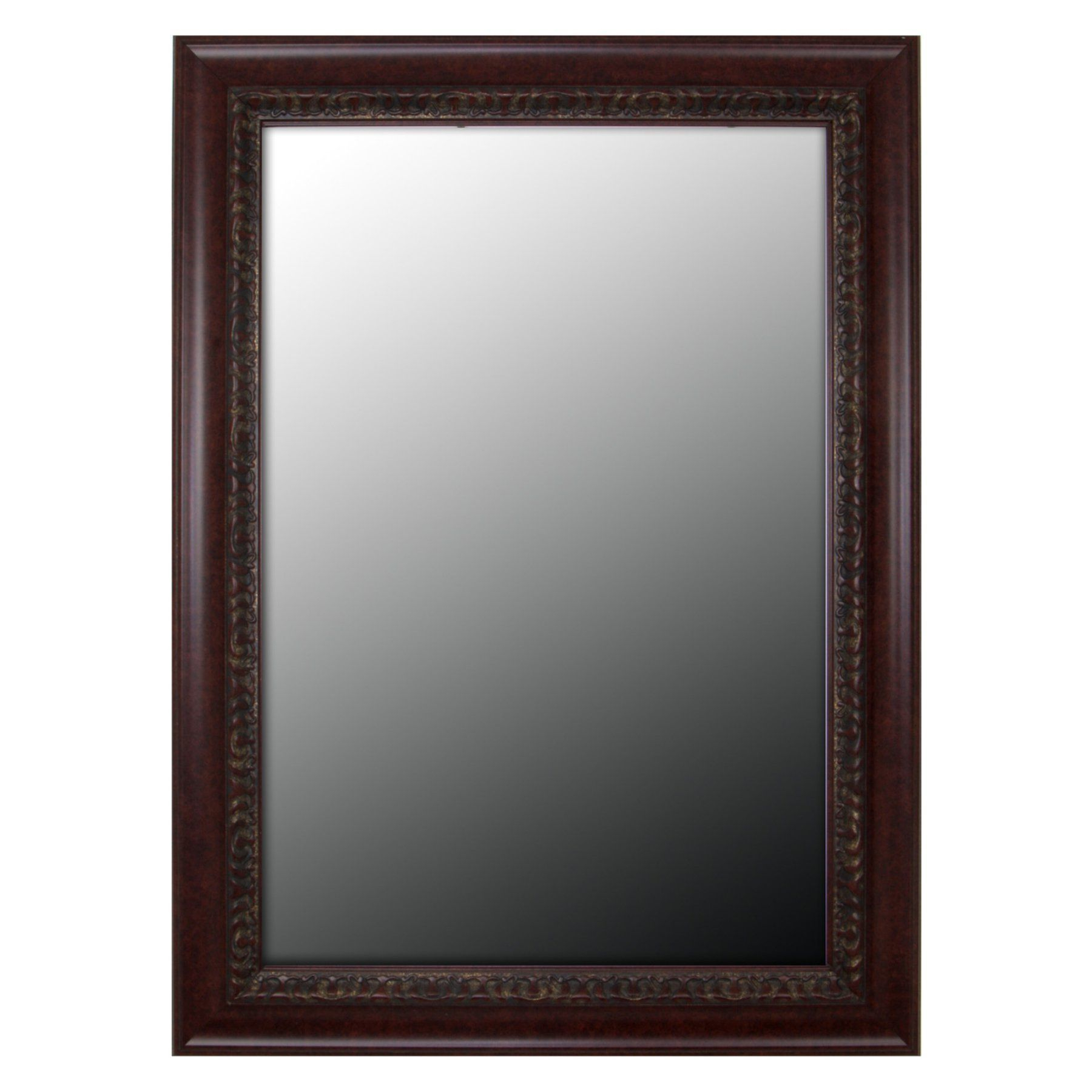 Well Known Cherry Wall Mirrors Throughout Second Look Mirrors Birds Eye Cherry Gold Accents Wall Mirror (View 12 of 20)