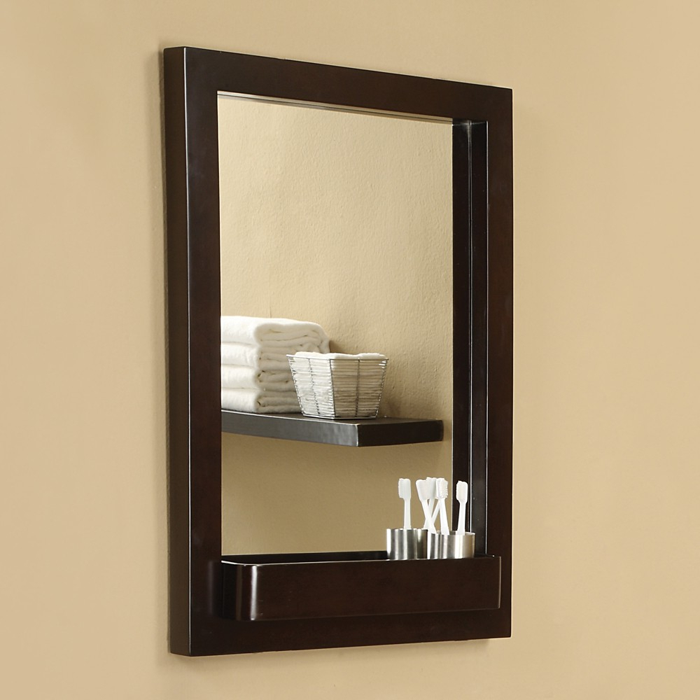 Well Known Cherry Wood Framed Wall Mirrors With Haddington Rectangular Mirror – Mirrors – Bathroom Furniture – Products (View 13 of 20)