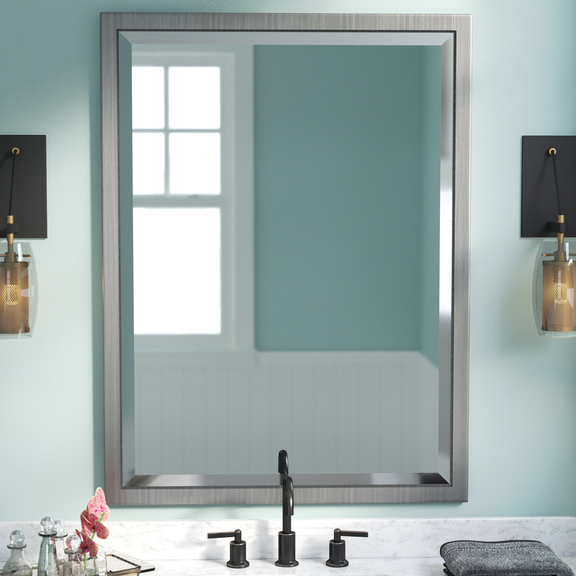 Well Known Classic Wall Mirrors For Classic Wall Mirror (View 18 of 20)