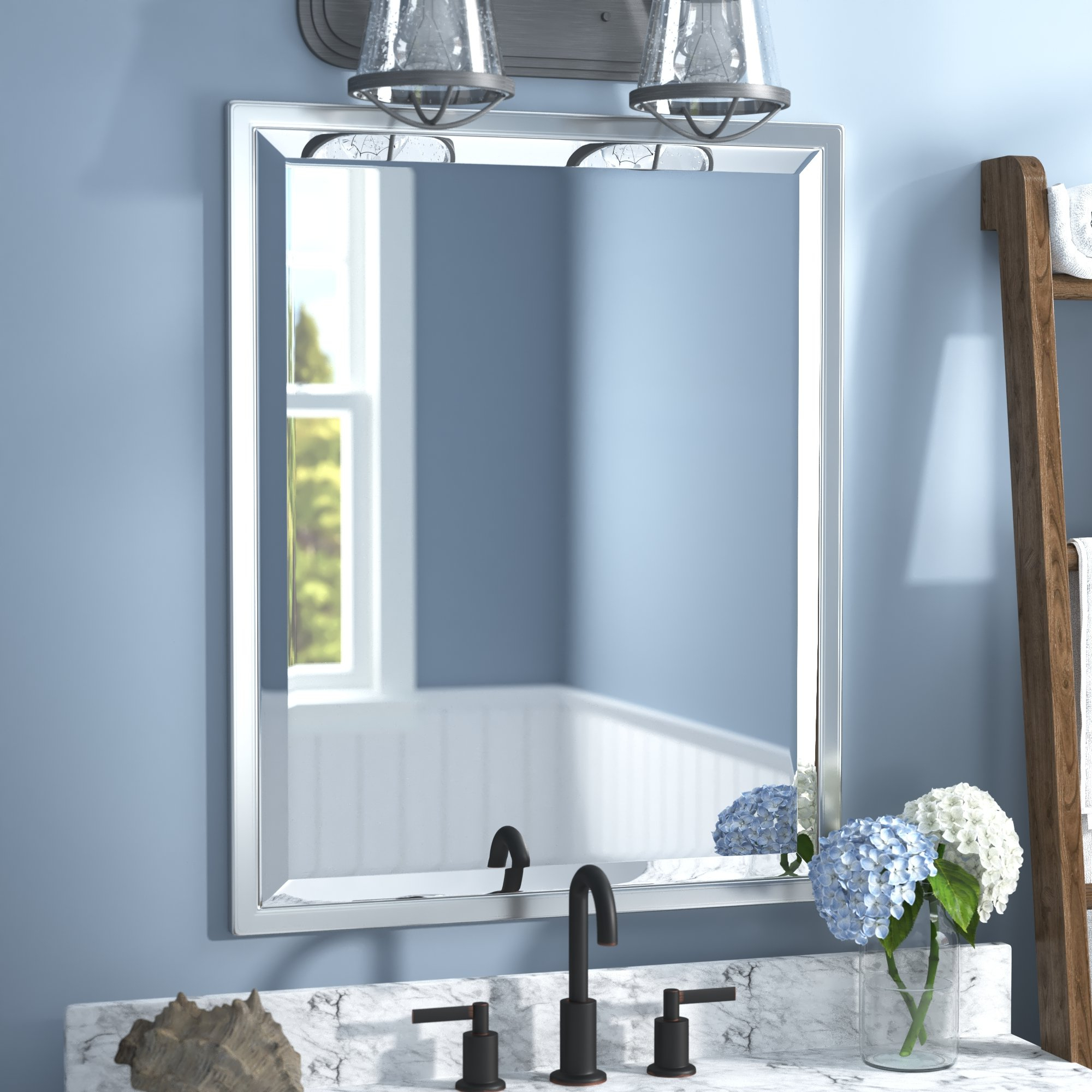 Well Known Classic Wall Mirrors Intended For Classic Wall Mirror (View 7 of 20)