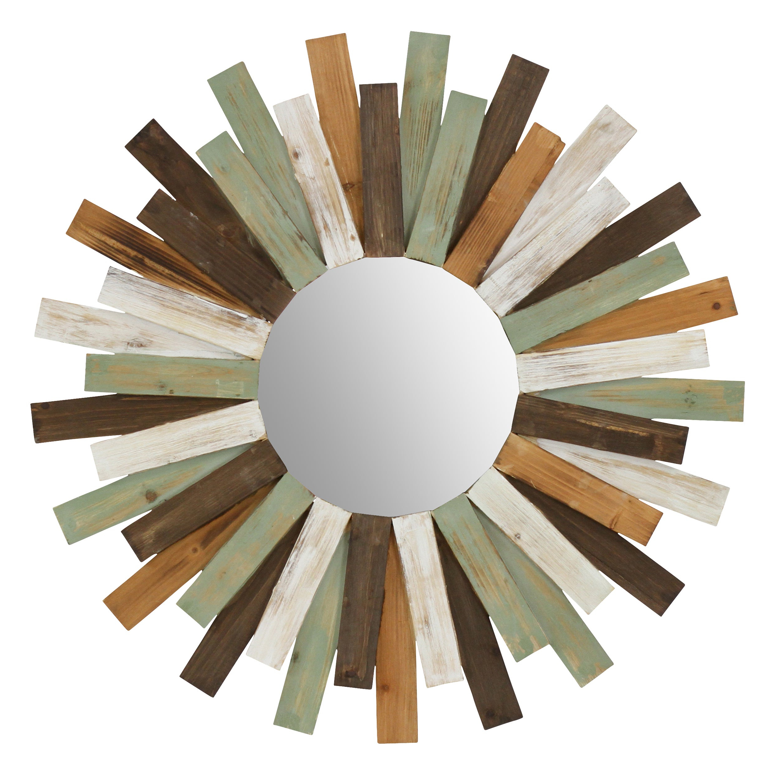 Well Known Colorful Wall Mirrors With Shop Asher Colorful Wall Mirror – Free Shipping Today – Overstock (View 13 of 20)