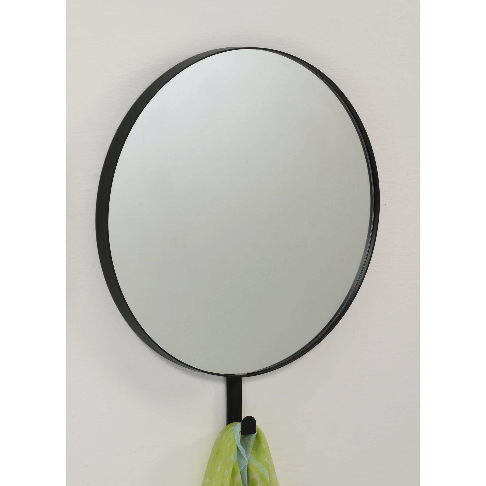 Well Known Contemporary Wall Mirror Black & Round – Black With Regard To Contemporary Wall Mirrors (View 9 of 20)