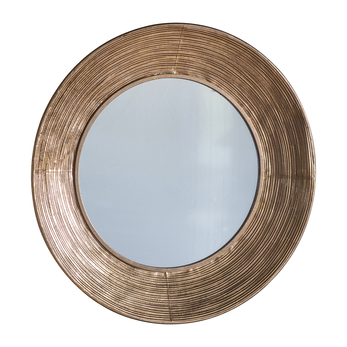 Well Known Copper Wall Mirrors Inside Round Copper Wall Mirror (View 18 of 20)