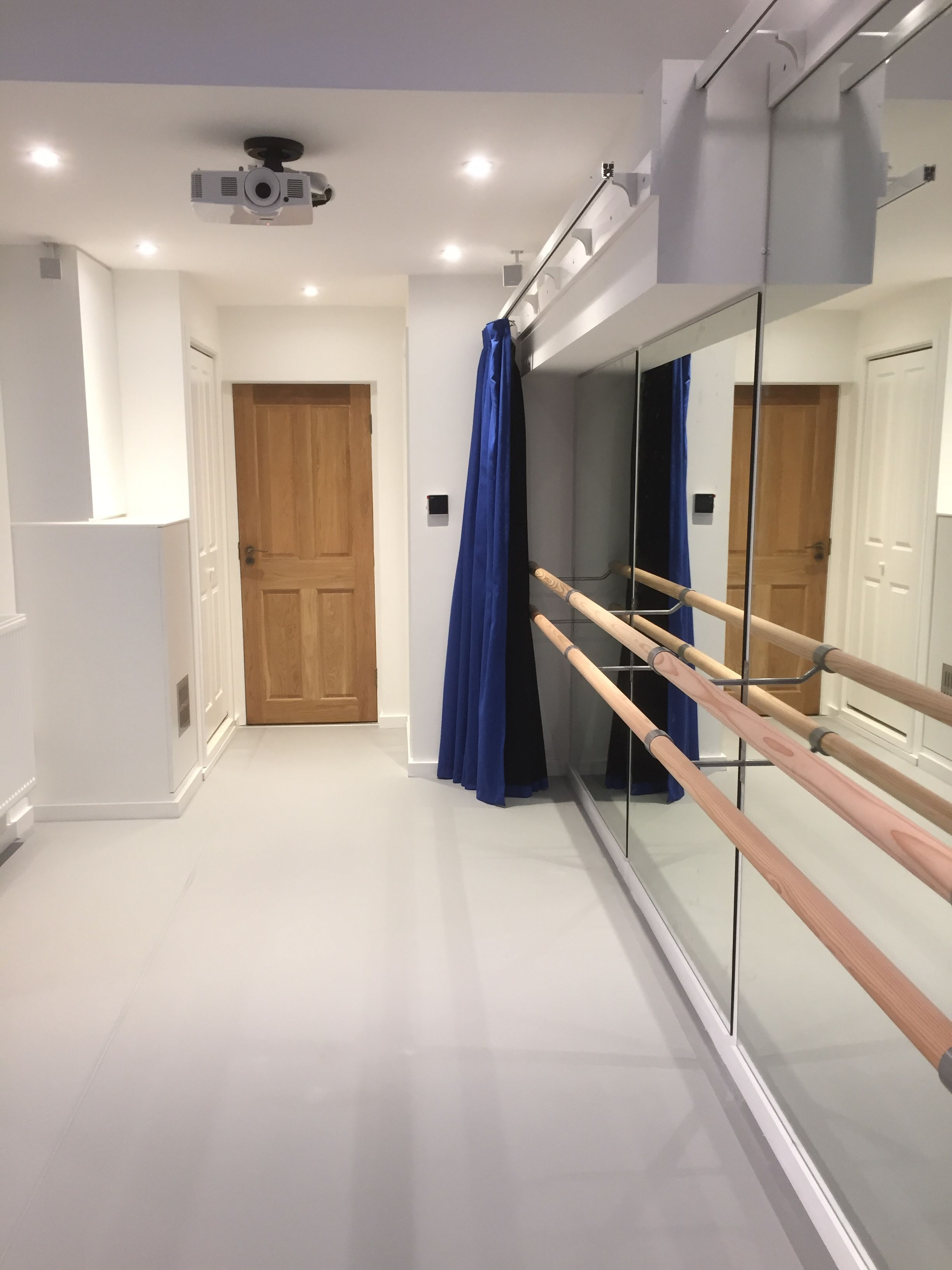 Well Known Dance Studio Wall Mirrors Pertaining To We Converted This Garage Space In East Sussex Into A Dance Studio (Gallery 19 of 20)