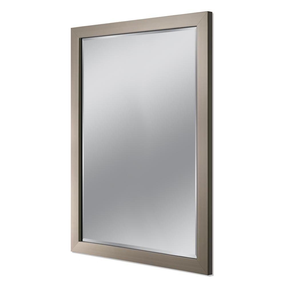 Featured Photo of Brushed Nickel Wall Mirrors